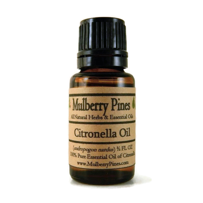 Citronella Oil Barking Dogs