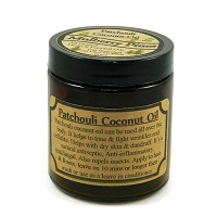All Natural Hippie Dip Patchouli Coconut Oil
