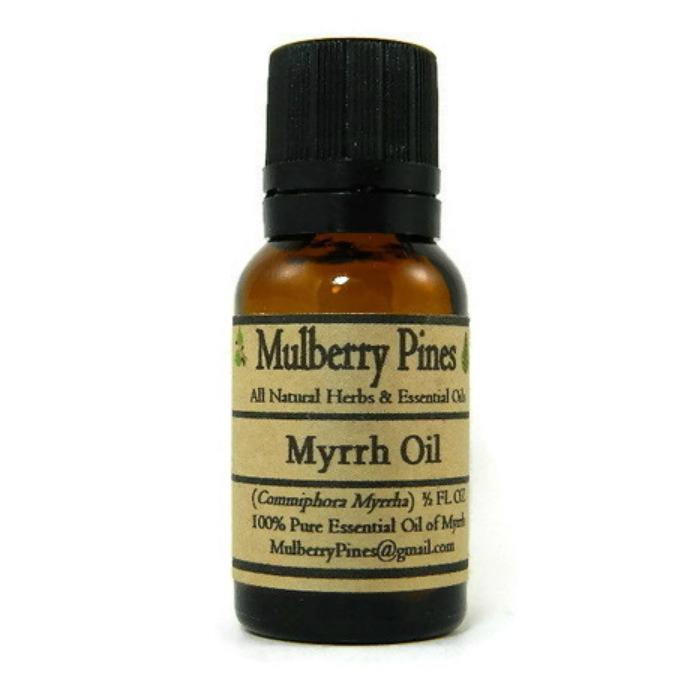 Myrrh Essential Oil Commiphora Myrrha