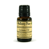 Lemon Essential Oil - Citrus limon L. burm