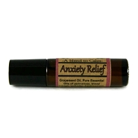 Anxiety Essential Oil Blend Roll-on