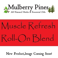 Muscle Refresh Essential Oil Blend Roll-on