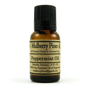 Peppermint Essential Oil - (Mentha arvensis)